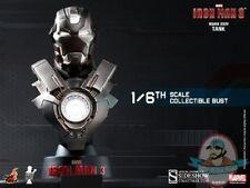 1/6 Iron Man Iron Man 3 Iron Man Mark 24 Tank Bust Hot Toys