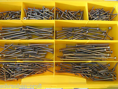 Sortimentkasten 405 tlg Torx Edelstahl Spanplatten Schrauben Sortiment
