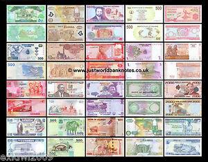 COLLEZIONE-Banconota-Africa-20-Diverse-Banconote-Unc-20-PZ-Set-3