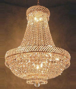 French empire crystal chandelier chandeliers lighting h26 x w23 image is loading french empire crystal chandelier chandeliers lighting h26 034 aloadofball Image collections