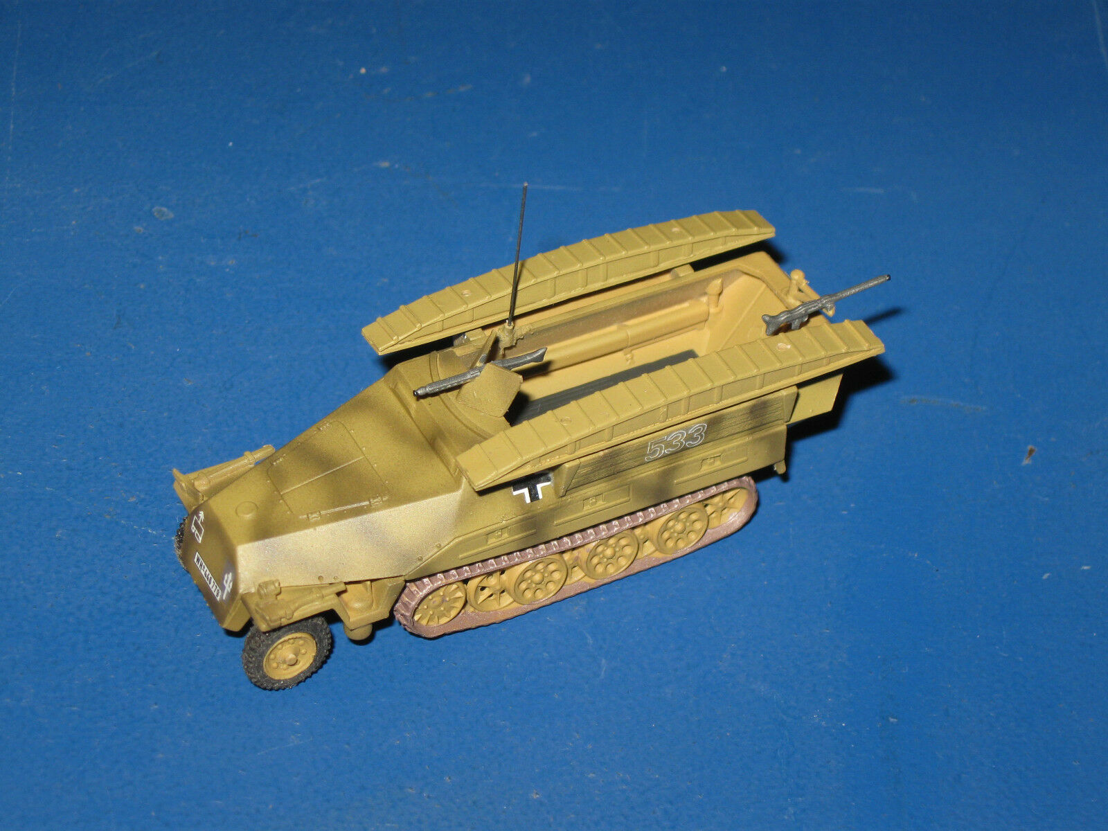 SD. KFZ 251 7 ejec. d d d medianas Semicarriles 1 87 h0 Trident mini Tank WK II 4e5864