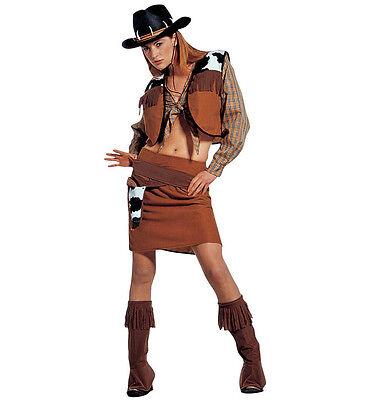 Costume da Donna Cowgirl Western LADY TAGLIA L
