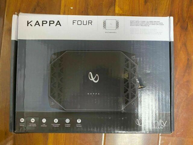 Infinity Kappa Four 4-Channel Class-D Car Audio Amplifier