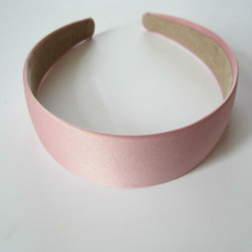 3cm Plastic Solid Women Headband Hair Band Hoop Wide Candy Color Plain Hairband