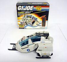 VINTAGE COBRA WOLF GI Joe Action Figure Vehicle COMPLETE w/BOX 1987