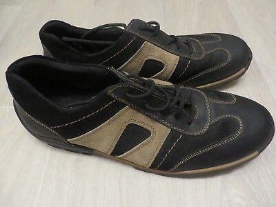 Memphis one Deichmann Herren Schuhe SneakerSchnürer SchwarzBraun Gr 46 wie neu | eBay