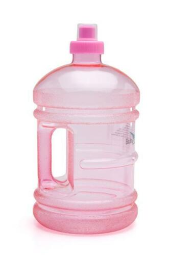 Pink New Bluewave 1.9 Liter//64 oz Daily 8 Health Fitness Gym Water Bottle Jug