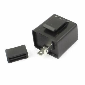 Turn Signal Flasher Blinker Relay 12V 2 Pin for Motorbike LED Indicator Light