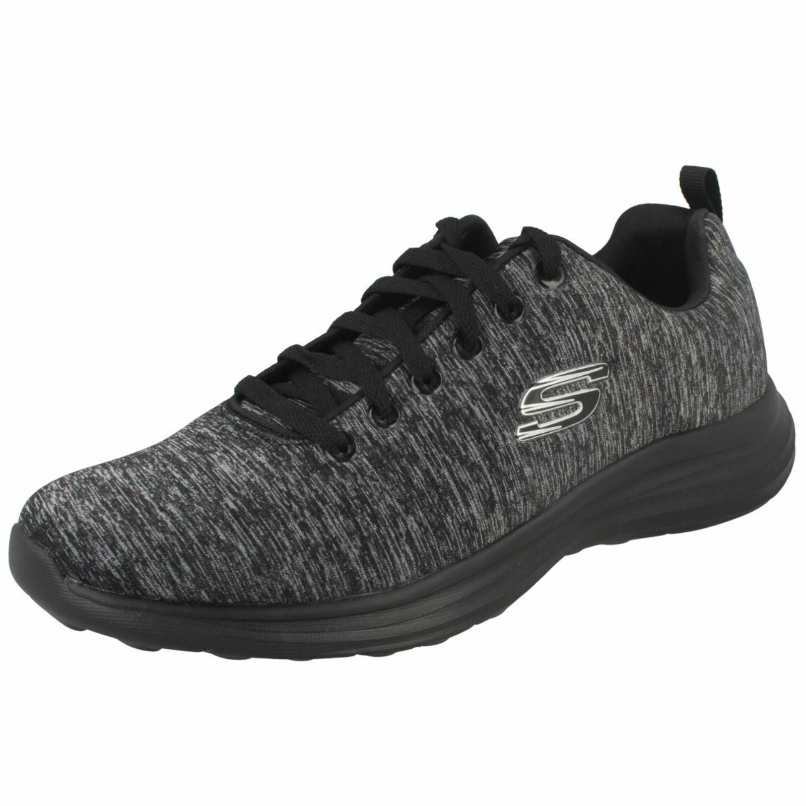 Para Hombre Skechers Informales Con Cordones Zapatillas Low Key Power Trippi