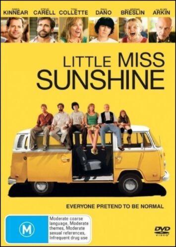 1 of 1 - LITTLE MISS SUNSHINE (Greg KINNEAR Steve CARELL Toni COLLETTE) DVD NEW Region 4