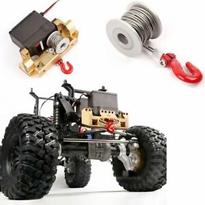 GRC-25T-Servo-Winch-Linie-Drum-RC-Rock-Crawler-Aluminum-Winde-Upgrade-Zubehoer