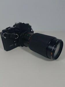 Sears-KS500-Film-Camera-Cam-w-Focal-MC-Auto-Zoom-1-45-f-80-200-mm