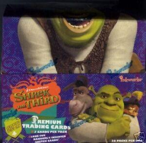 Shrek-the-Third-TC-Box-MINT-Sketch-cards-Inkworks