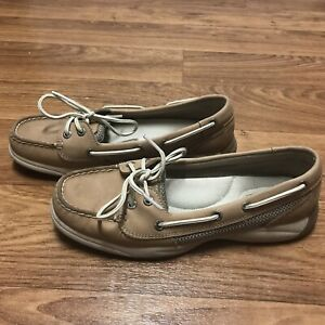 SPERRY-Top-Sider-Boat-Shoes-Tan-Laguna-9773581-Women-039-s-Size-6-5M