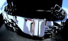 Edelstahl Uhrenarmband Jubile 22mm Rundanstoss Vollstahl Kompatibel Breitling