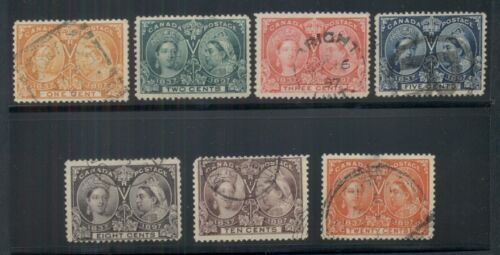 CANADA #514,567,59 120 Jubilees, all used, Scott $450.00