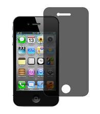 Blickschutzfolie iPhone 4 / 4S Privacy Displayschutz Folie Antispy schwarz matt