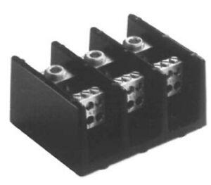 Cooper Bussmann 16521-3 Distribution Block, 600V 380A, 500MCM-6 Lne, 4-14 AL7CU