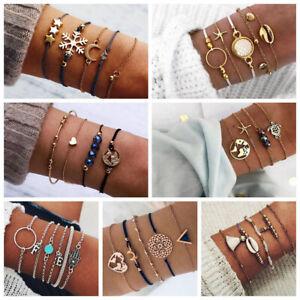 Conjunto-de-joyas-de-mujer-Pulseras-de-cadena-de-cristal-de-piedra-de-cuerda