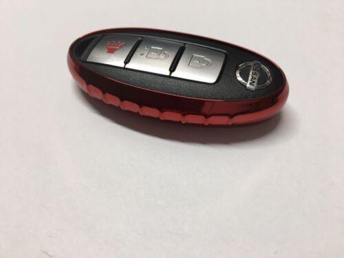 1pc TPU Smart Key Fob Cover for 2016 2017 2018 Nissan Altima Maxima Rogue Sentra