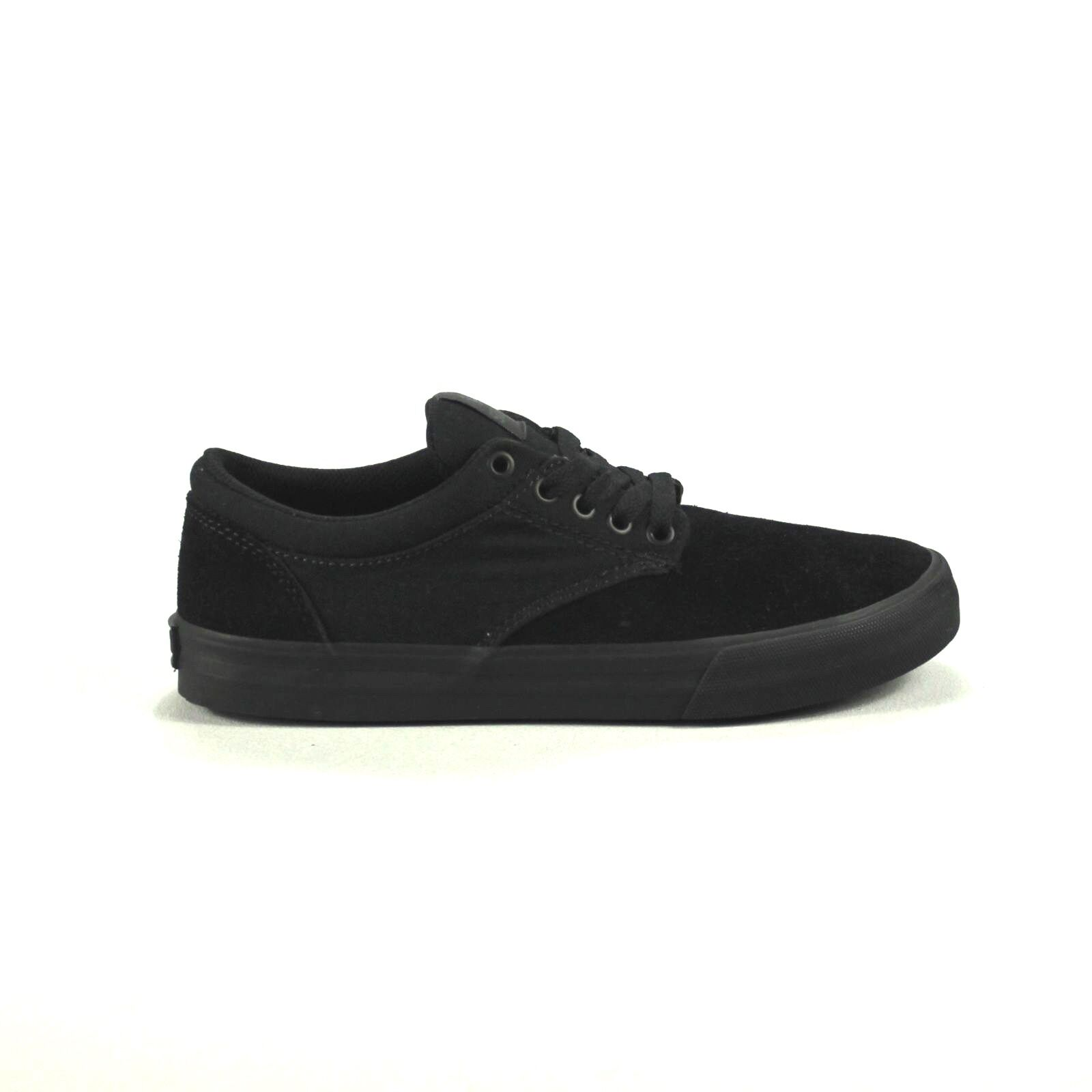 Supra chino Zapatillas de Skate nuevo en caja Negro/Negro en tamaño de Reino Unido 7,9