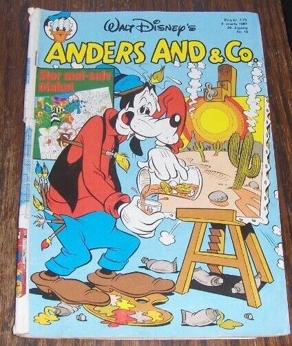 WALT-DISNEY's ANDERS AND NR. 10 - 1987, Walt Disney,