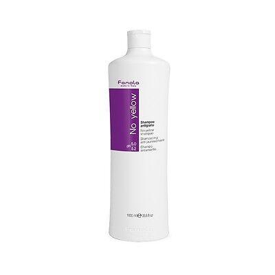 Fanola No Yellow Shampoo 1L 1 Litre 1000ml  + FREE PUMP + FREE POSTAGE