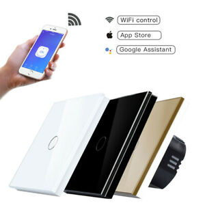 1-2-3-Gang-Smart-Light-Switch-Wifi-Wall-Touch-Panel-Socket-Alexa-Google-Maison-UE