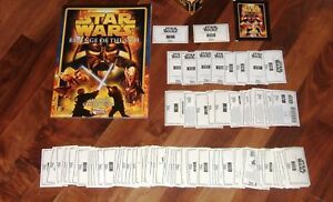 Star Wars Episode 3 Revenge Of The Sith Sticker SPARES Complete Your Set