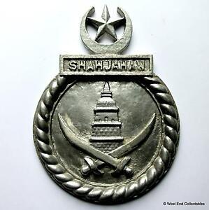 PNS-Shah-Jahan-HMS-Active-Charity-Pakistan-Navy-Tampion-Plaque-Badge-Crest