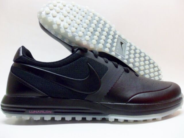 f94402e6e1f5 Nike Lunar Mont Royal Golf Shoes Black Pink 652530-005 Men s Size 9 ...