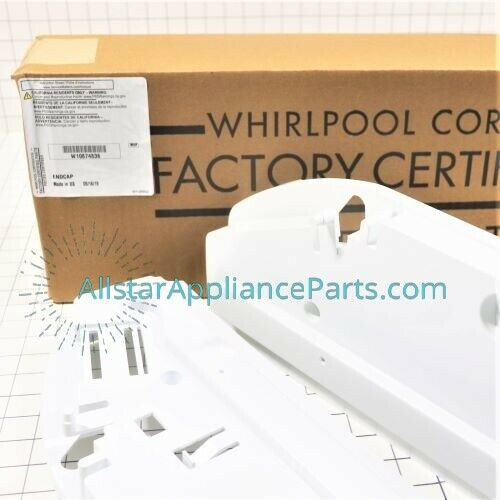 Whirlpool Refrigerator Pantry Drawer Support W10874836