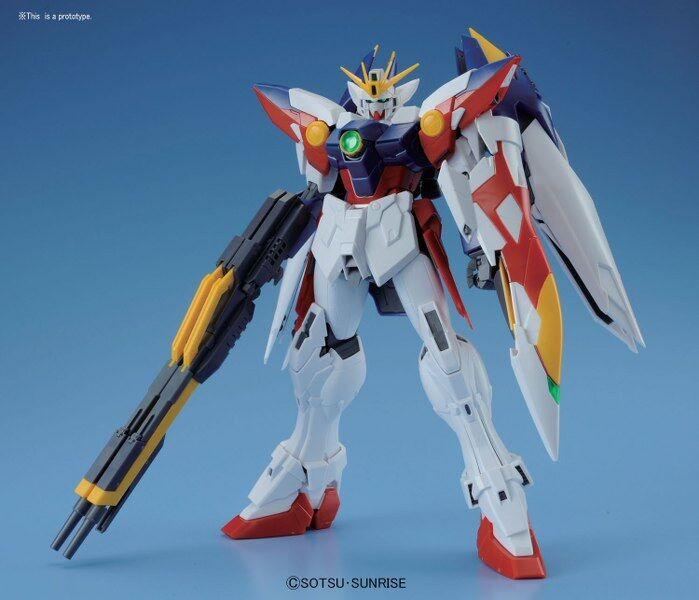 Xxxg-00w0 wing gundam predo zero ew endless waltz gunpla mg master grade 1 100