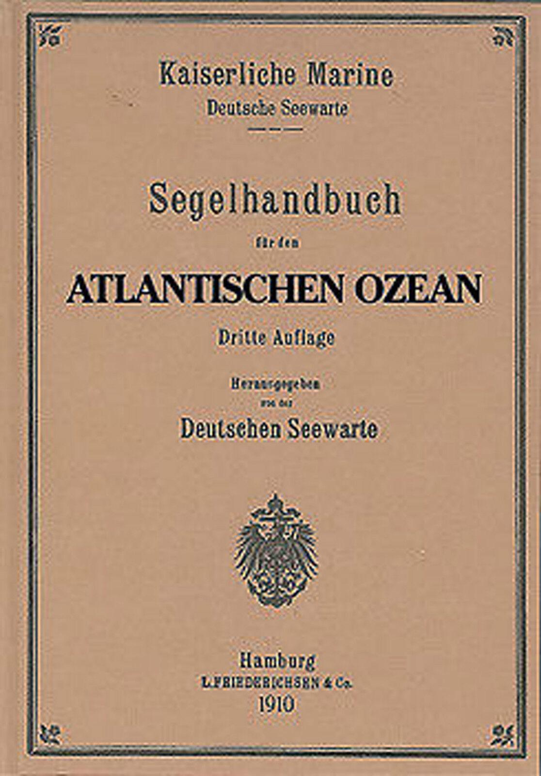 Segelhandbuch Atlantischer Indischer Ozean, Indischer Atlantischer Ozean oder Stillen Ozean NV-Verlag fc3d6e