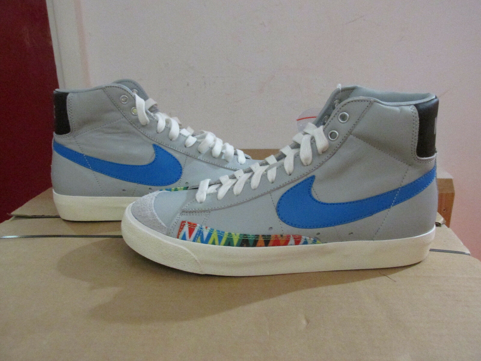 nike blazer mid 77 PRM VNTG mens hi top trainers 537327 001 sneakers CLEARANCE
