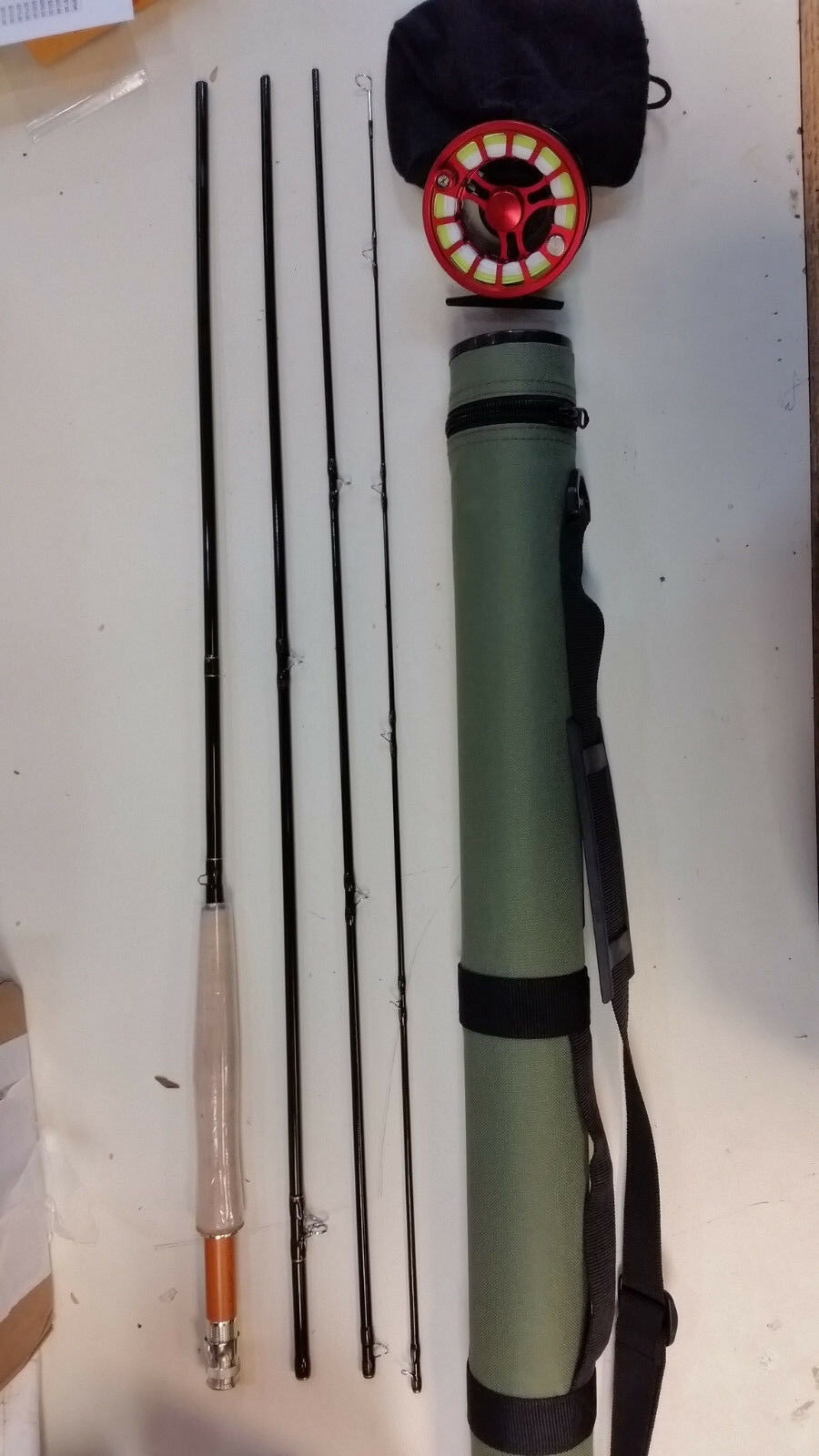 Fly Rod, Reel and  Case Combo  Advanced Series