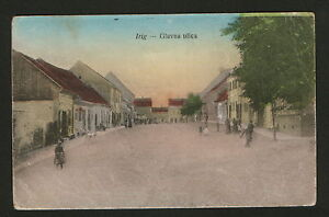 WWI-AUSTRIA-HUNGARY-SERBIA-TRAVELED-CENSORSHIP-POSTCARD-IRIG-1915