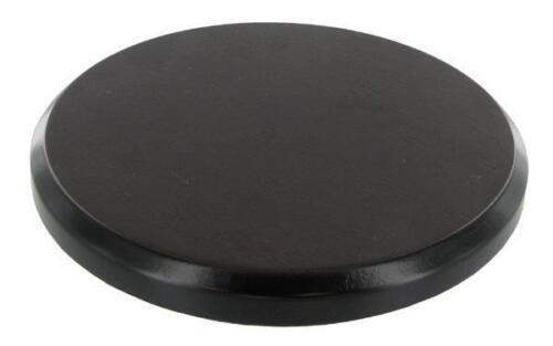 Base top Round Solid Wooden Display Plinth Diameter 14cm