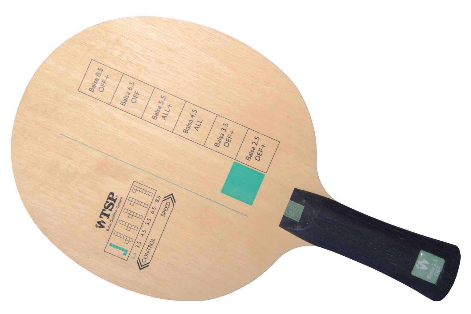 Tsp Balsa 2.5 Tennis de Table-Bois Raquette de Tennis de Table