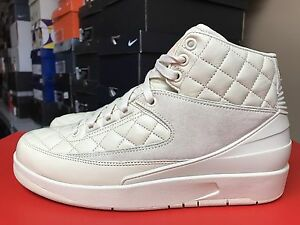 the latest d04e1 649ce Image is loading DS-Nike-Air-Jordan-2-Just-Don-Beach-