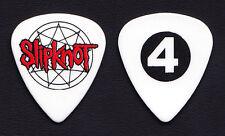Slipknot Jim Root #4 White Guitar Pick - 2015 Tour