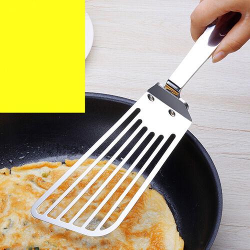 Edelstahl BBQ Grill Spachtel Schaufel mit Griff Hauptküchen Hotel Werkzeug