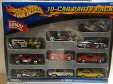 Hot Wheels 10 Car Gift Pack  w/Yellow Ferrari