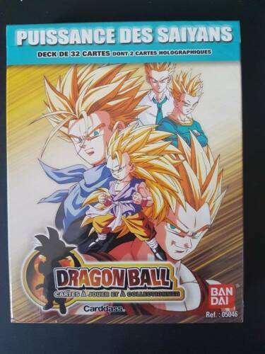 Carte DBZ Dragon Ball JCC FR # Deck Puissance des Saiyans BANDAI 2010