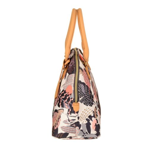 Dames À Boston Oilily Charcoal Coloré Pop Sac Botanic Bandoulière Nouveau Sac UXgx01