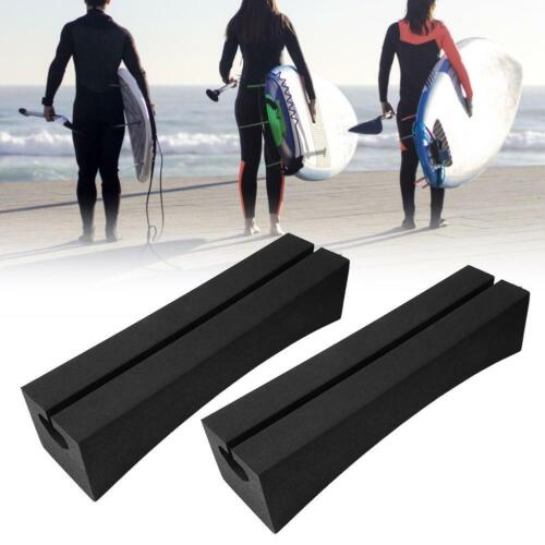 2pc Universal Car Top Roof Bar Rack Surfboard Kayak Stand-up Paddle Carrier Rack