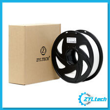 Zyltech 3d Printer Filament PLA 1.75 Mm 1 Kg/2.2 Lbs White