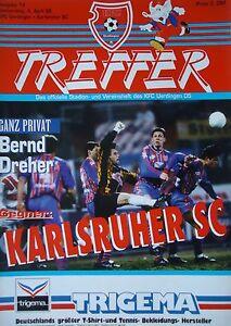 Programm Pokal 1995//96 VfB Gaggenau 1860 München