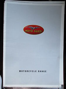 CATALOGUE BROCHURE 8 PAGES MOTO GUZZI GAMME 1998 hGy7tOdz-07135748-562319180