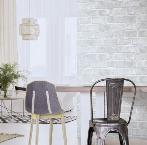 ft Peel Stick Wallpaper White Brick Waterproof Self Adhesive Removable 30.75 sq